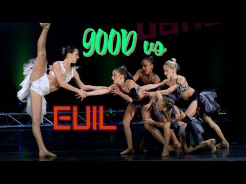 Top Ten GOOD VS EVIL Dances