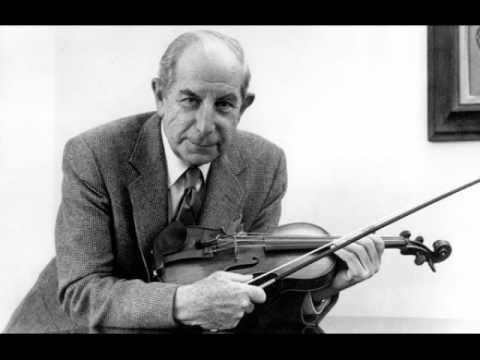 Roman Totenberg (Vn) Bach Chaconne トーテンベルクのシャコンヌ