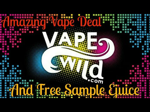 Vape Wild Amazing Vape Deal And Free Sample Ejuice | Jaysvapes