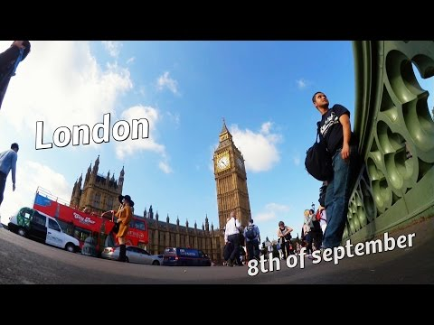 london - the 8th of september