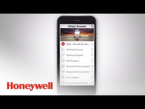 Honeywell Direct Access Customer App | App Demos | Honeywell Aviation