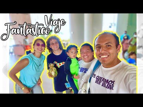 😍 Conocimos al youtuber + grande de MEXICO ▶ LUISITO COMUNICA 🎉 1 viaje FANTASTICO (Vlogs Diarios)