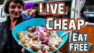 LIVE CHEAP - EAT FREE - A Foraging Adventure