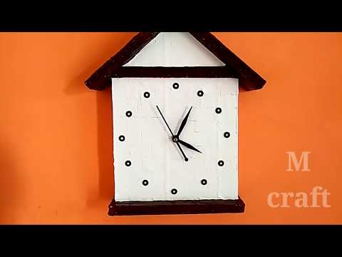 How to make amazing wall clock very easy