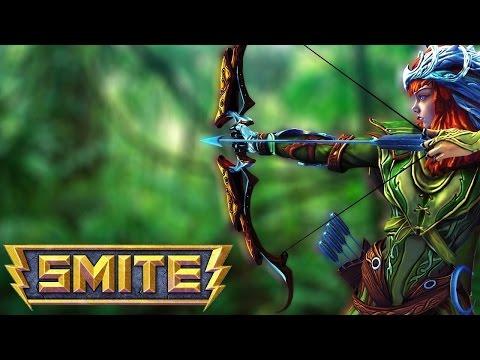 видео: smite ru || Обзор на богиню Артемиду ( artemis )