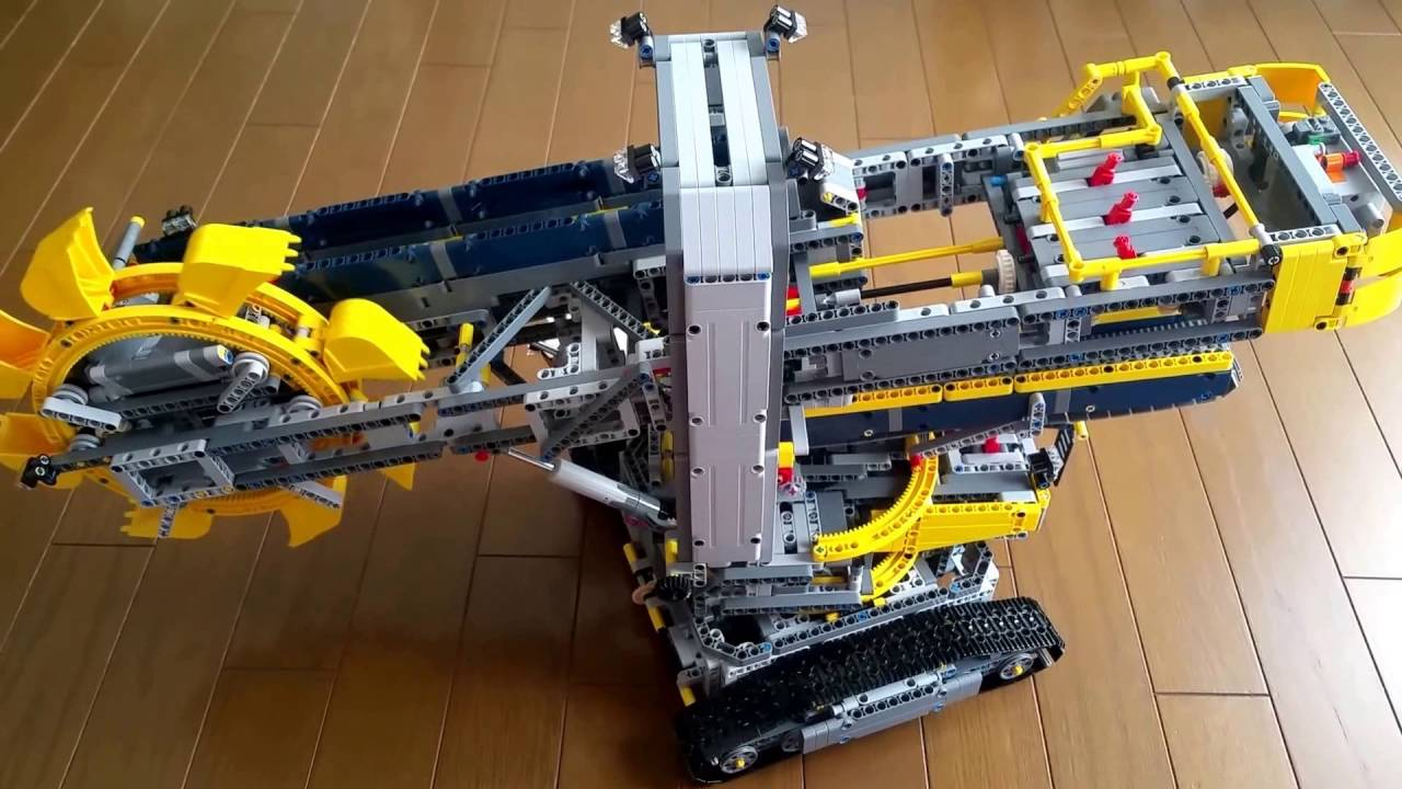 lego technic 42055 bucket wheel excavator youtube. Black Bedroom Furniture Sets. Home Design Ideas