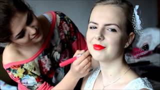 Fryzury i makijaż ślubny