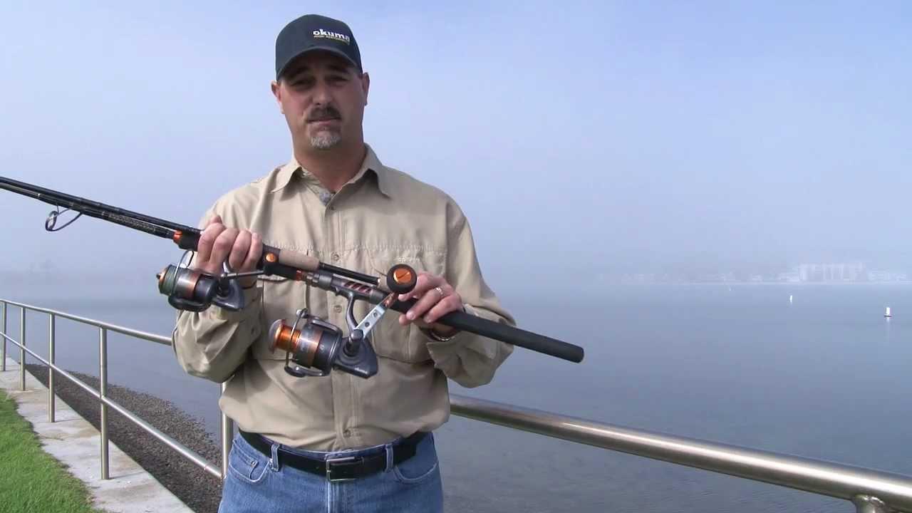 Okuma fishing raw ii full metal jacket spinning for Okuma fishing usa