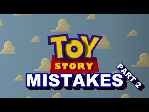 Toy Story (#2) MOVIE MISTAKES You Didn't See | Toy Story Goofs