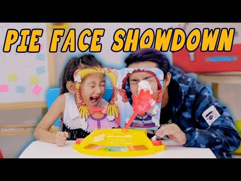 Pie Face Showdown (Loser Gets PUNISHED!!!)