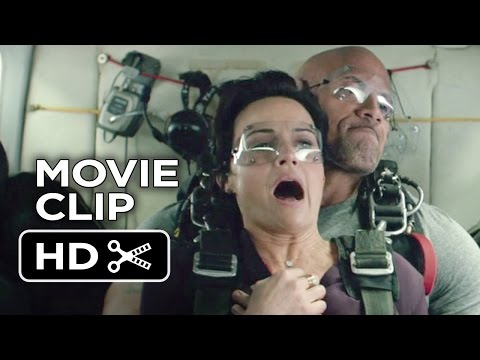 San Andreas Movie CLIP - Plane (2015) - Dwayne Johnson, Carla Gugino Movie HD