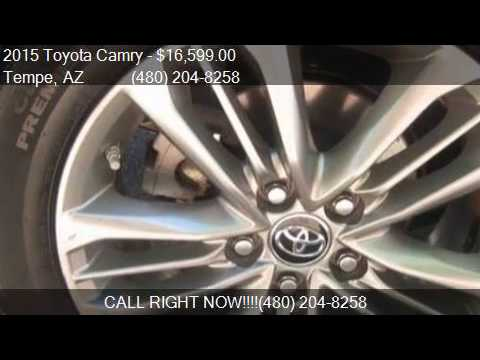 2015 Toyota Camry SE 4dr Sedan for sale in Tempe, AZ 85281 a