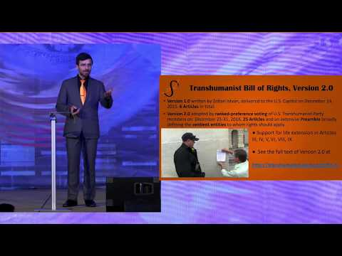 The U.S. Transhumanist Party - Pursuing a Peaceful Political Revolution for Longevity