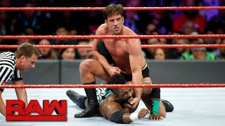 Cedric Alexander vs. Mustafa Ali vs. Drew Gulak vs. Tony Nese - Fatal 4-Way Match: Raw, Dec. 4, 2017