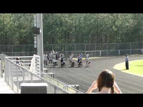 Millbrook Girls 100 Meter dash March 14, 2012 @Wakefield High School