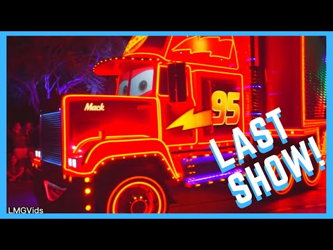 *Last Show* Paint the Night Parade 2018 Disneyland complete show 1080p