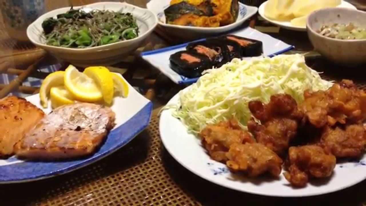 夕飯 の メニュー