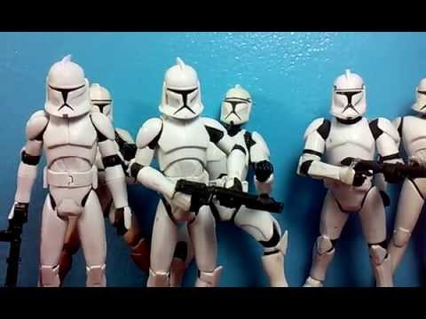 The Evolution of the Clone Trooper Action Figure