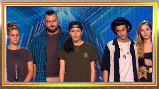 RISTO y EVA dan un PASE de ORO al POLIAMOR y al FEMINISMO | Audiciones 8 | Got Talent España 2019