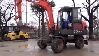 Korean used Excavator -- Autowini.com / Daewoo S55W-V (Hyundai12-032)