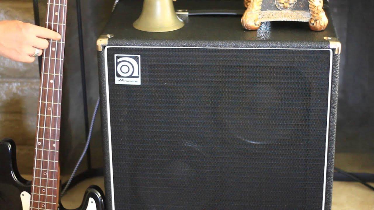 Ampeg Ba 210 Sp : ampeg ba 210sp distorted sound added at low volume when cold youtube ~ Russianpoet.info Haus und Dekorationen