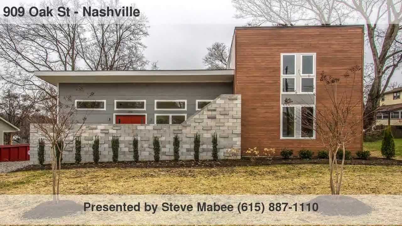 Mid century modern architecture in east nashville youtube for Mid century modern furniture nashville