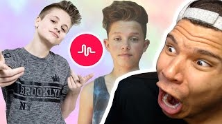 REACTING TO MUSICAL.LY (MOST CRINGEY KIDS)