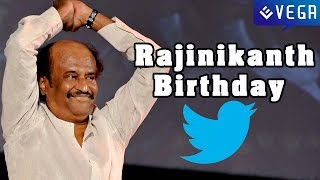 Celebirities Birthday Wishes To Rajinikanth on Twitter