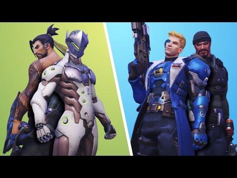 La Storia degli Eroi di Overwatch