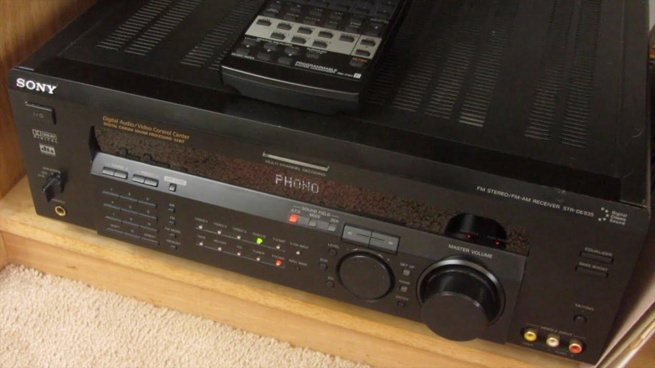Sony STR-DE935 Review