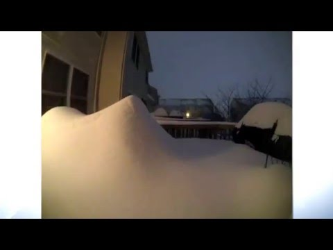 Time Lapse Of US Snowstorm