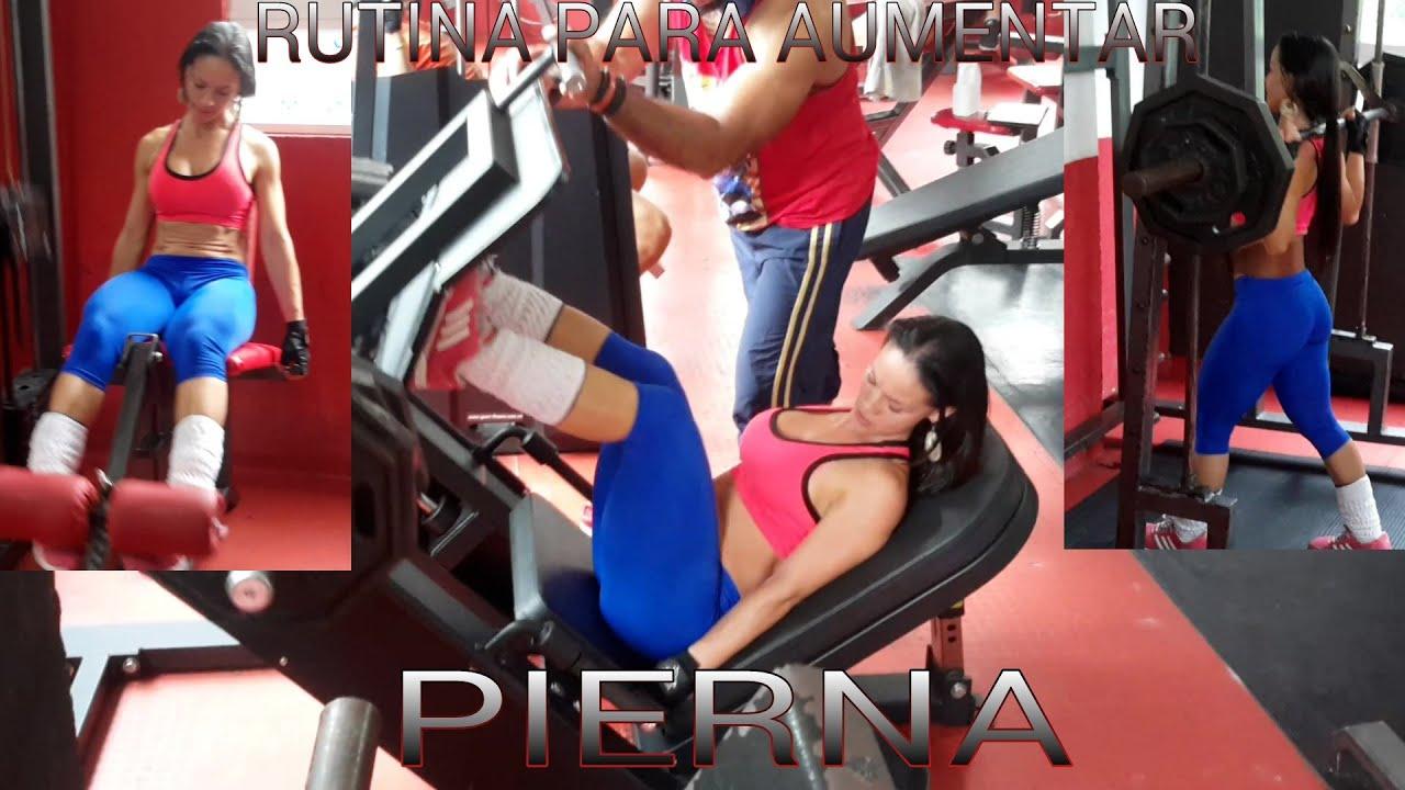 ejercicios para aumentar pierna en una semana ejercicios