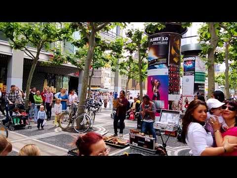 Street music - Zeil in Frankfurt
