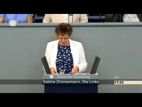 Sabine Zimmermann: Aktuelle Stunde/  Tarifkonflikt bei der Deutschen Post AG [Bundestag 01.07.2015]