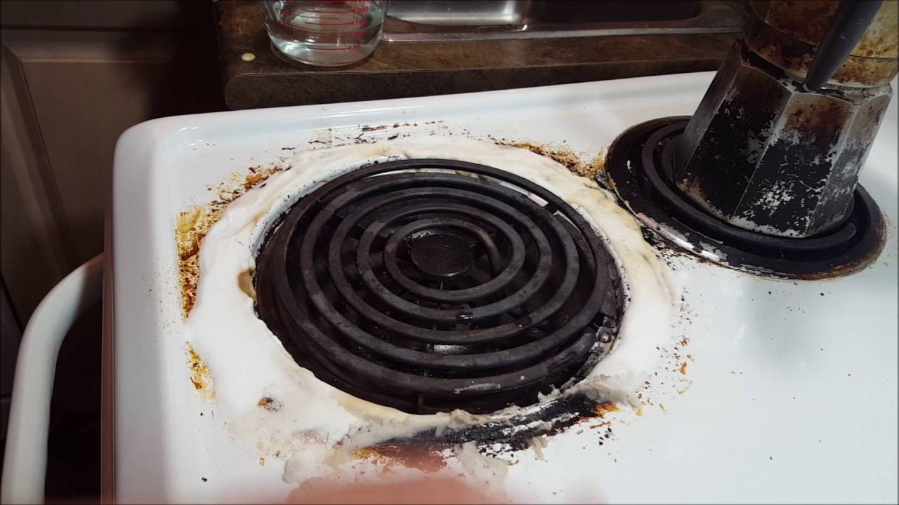 How To Remove Burnt On Grease From Ceramic Stove Top To