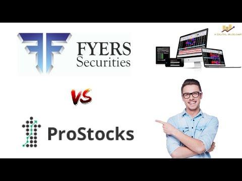 Fyers Vs Prostocks - Detailed Comparison on Pricing, Trading Platforms, Exposure