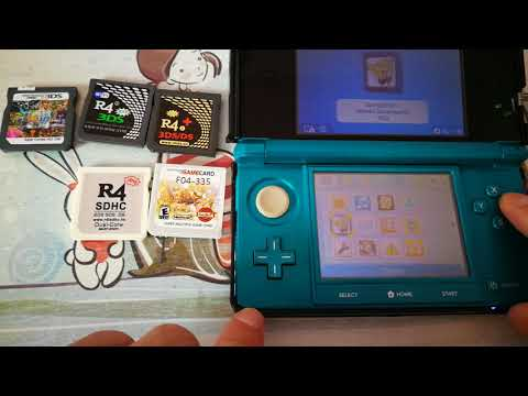 R4 Gold Pro Firmware Upgrade - 2018 Version for NEW 3DS XL