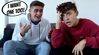 I WANT A BABY NOW PRANK ON BOYFRIEND (GONE WRONG) (Gay Couple Edition)