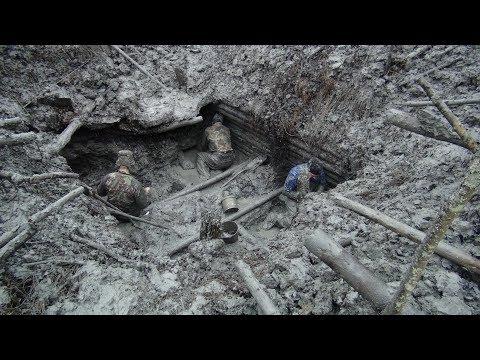 Смотреть 🔴 Раскопки немецкого блиндажа WW2 metal detecting German Dugout онлайн