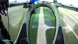 Тамбов. Контрольний проліт, вид з штурманської кабіни Ту-134