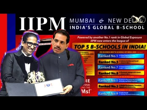 IIPM was Robert Vadra's Real Estate Masterplan : Arindam Chaudhuri