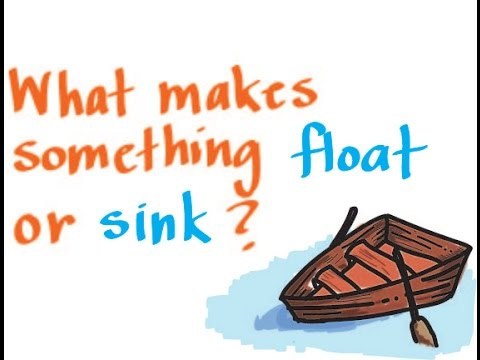 Buoyancy: What Makes Something Float Or Sink?
