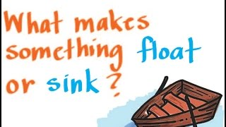 Buoyancy: What Makes Something Float or Sink?