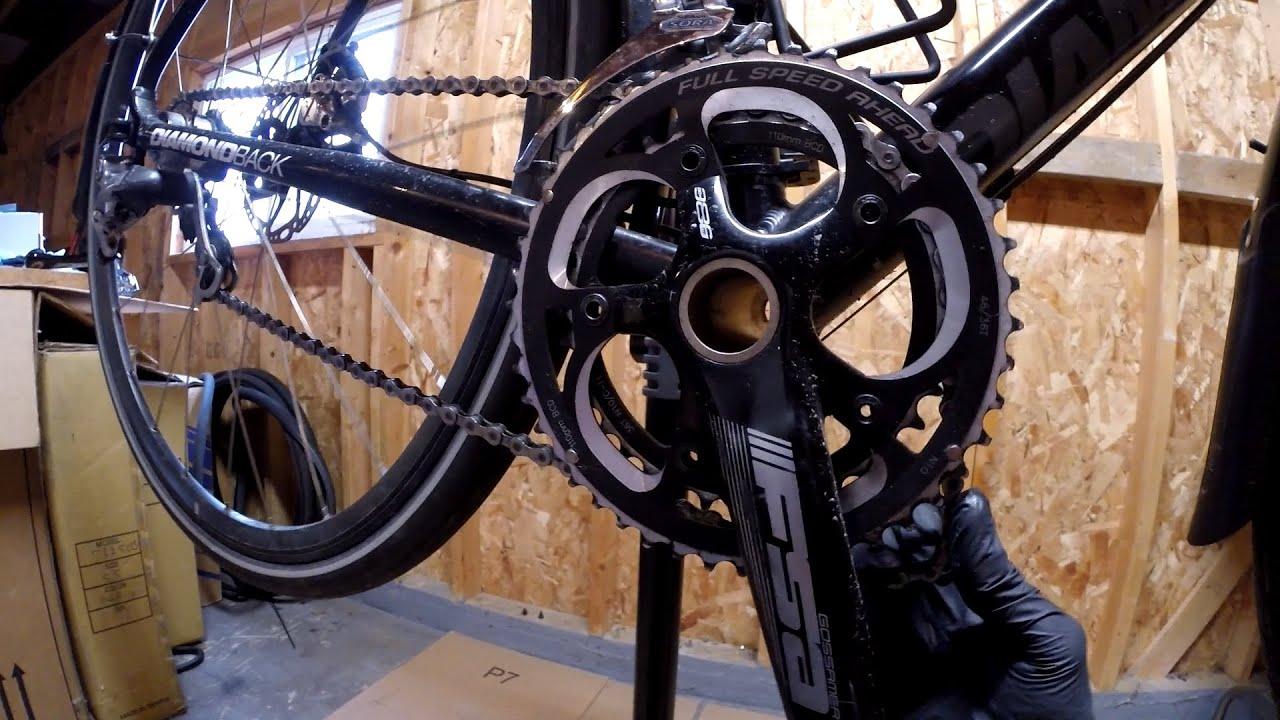 How To Remove Fsa Gossamer Bb386evo Crank Bike Blogger