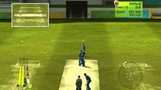 Brian Lara international Cricket 2007( PC Gameplay ) - India Vs Bermuda Part - 1