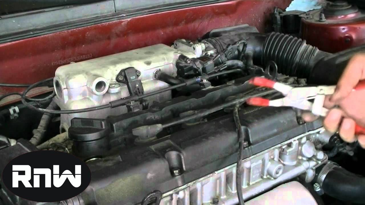 How to Remove and Replace Spark Plugs  Hyundai Elantra 20L Engine  YouTube