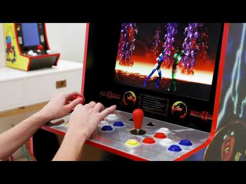 Arcade1Up 5 ft. Mortal Kombat Arcade Machine with Lightup Marquee from HSNtv