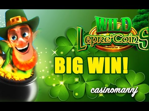 Wild Lepre Coins Slot Big Win Happy St Patty S Day