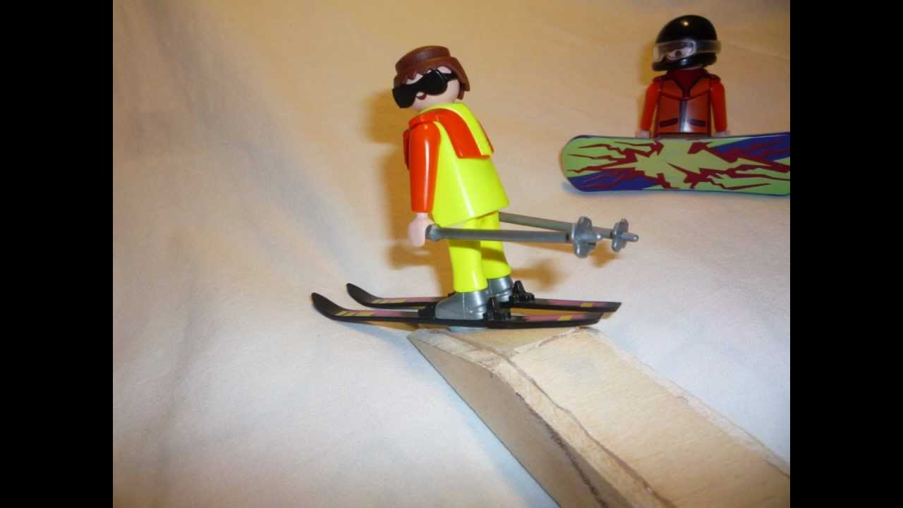 ski playmobil freestyle