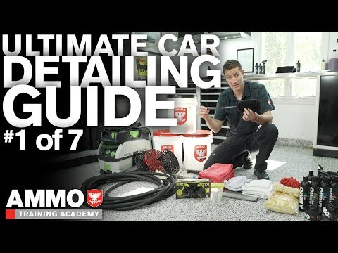 Step by Step Guide to Detail Your Car: ATA 101